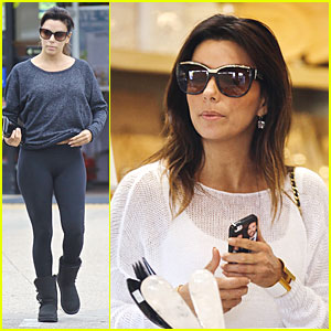 Eva Longoria Has Boyfriend Jose Antonio Baston in the Palm of Her Hand!