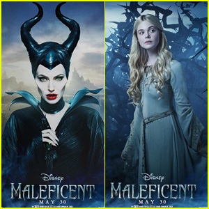 Five New Character Posters for 'Maleficent' Revealed Featuring Angelina Jolie and Elle Fanning!