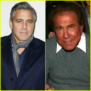 George Clooney Feuds with Casino Owner Steve Wynn - Read GC's Latest Statement!