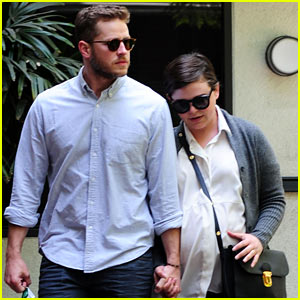 Ginnifer Goodwin Looks Like She Could Give Birth Any Day Now!