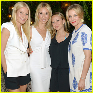 Gwyneth Paltrow & Cameron Diaz Show Their Support for Author Vicky Vlachonis at 'Body Doesn't Lie' Launch Party!