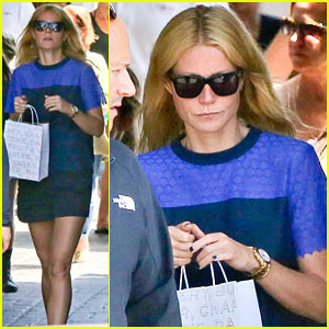 Gwyneth Paltrow Steps Out Solo to Shop on Memorial Day