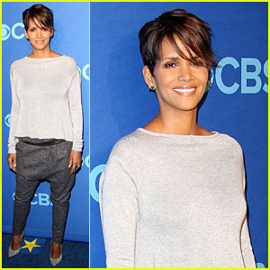 Halle Berry Presents 'Extant' at CBS Upfront - Watch the Trailer!