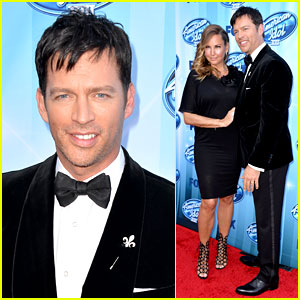 Harry Connick, Jr. Brings Wife Jill Goodacre to 'American Idol' Finale!