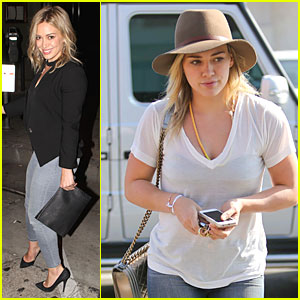 Hilary Duff Believes It's Important to Remember That You Only Get One Life!
