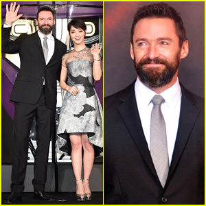 Hugh Jackman Celebrates 'X-Men: Days of Future Past' Big Weekend Box Office Opening at Tokyo Premiere!