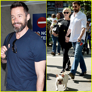 Hugh Jackman Takes Flight After Spending Mother's Day with Deborra-Lee Furness!