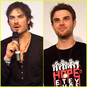 Ian Somerhalder Entertains Crowd at Another Day of Bloody Con