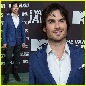 Ian Somerhalder is As Handsome as Ever at 'Vampire Diaries' Mexico Photo Call!
