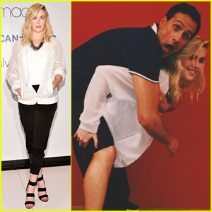 Ireland Baldwin & Ryan Lochte Get Playful at Macy's in NYC!