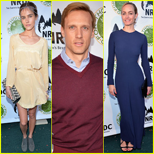 Isabel Lucas & Amber Valletta Get Glam for NDRC's Food For Thought Benefit!