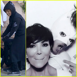 Jaden Smith Photobombed Guests as 'White Batman' at Kim Kardashian & Kanye West's Wedding!