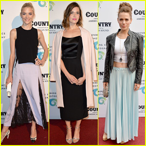Jaime King & Mandy Moore Celebrate Annenberg Space for Photography 'Country' Exhibit!