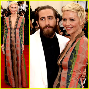 Maggie & Jake Gyllenhaal Make the Met Ball a Sibling Night Out