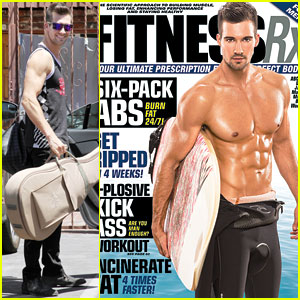 James Maslow Flashes Washboard Abs on 'Fitness RX' Cover!