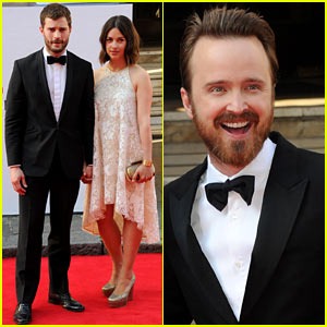 Jamie Dornan & Wife Amelia Warner Hold Hands & Look Cute Together at TV Baftas 2014!