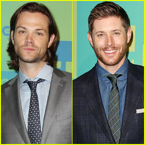 Jared Padalecki & Jensen Ackles Hit The CW Upfronts, Tease Shocking 'Supernatural' Finale!