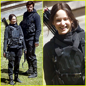 Jennifer Lawrence & 'Hunger Games: Mockingjay' Cast Continue Filming After First Look Pics Released!