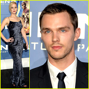 Jennifer Lawrence & Nicholas Hoult Attend 'X-Men' NY Premiere!