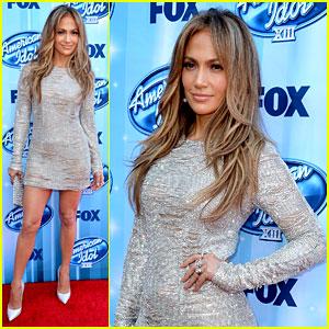 Jennifer Lopez Sparkles Away at 'American Idol' Season Finale!