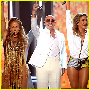 Jennifer Lopez & Pitbull Perform 'We Are One' at Billboard Music Awards 2014 (Video)