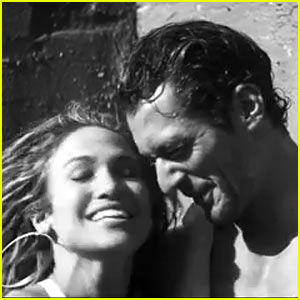 Jennifer Lopez Gets Sexy & Playful with David Gandy for 'First Love' Video - Watch Now!