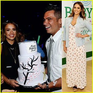 Jessica Alba Has a Belated 33rd Birthday Party in Las Vegas!