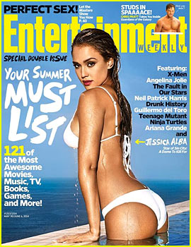 Jessica Alba Displays Insanely Sexy Bikini Body for EW's Summer Issue