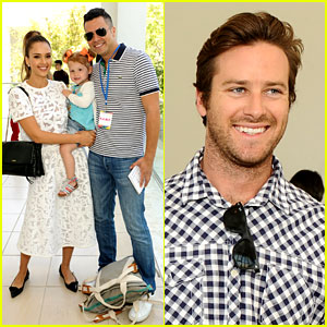 Jessica Alba Makes It a Family Affair at the Hammer Museum!
