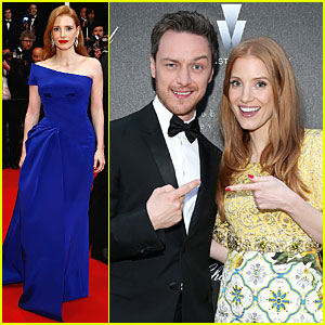Jessica Chastain Feels Blue at 'Disappearance Of Eleanor Rigby' Cannes Premiere!