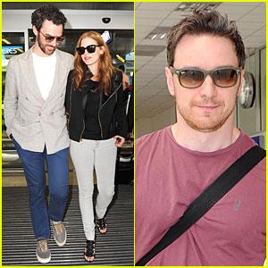 Jessica Chastain & Her Boyfriend Gian Luca Passi De Preposulo Bring Love to Cannes!