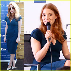 Jessica Chastain Is So Inspiring to Students at Cannes!