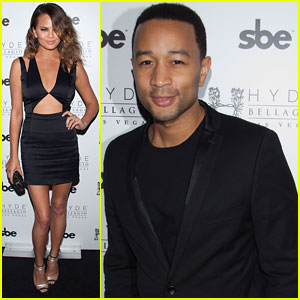 John Legend Brings it to the Bellagio with Wife Chrissy Teigen