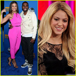 Shakira & Jordin Sparks Celebrate on Stage at the BMI Pop Awards 2014!