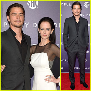 Josh Hartnett & Eva Green Combat Supernatural Threats at 'Penny Dreadful' Premiere!
