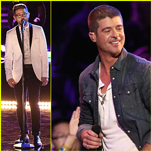 Josh Kaufman & Robin Thicke Sing 'Get Her Back' on 'The Voice Finale' - Watch Now!