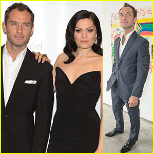 Jude Law & Jessie J Dress to the Nines For Peace One Gala!