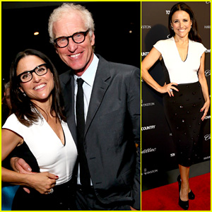 Julia Louis-Dreyfus Hosts 'Generosity Of Eye' Screening for Hubby Brad Hall!