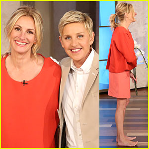 Julia Roberts Talks George Clooney's Sublime Engagement on 'Ellen' - Watch Now!