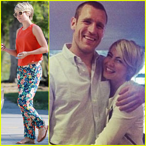 Julianne Hough Grabs Coffee Before Clippers Game Date with Beau Brooks Laich!