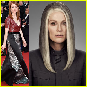 Julianne Moore as President Coin in 'Hunger Games: Mockingjay': First Look Pics!