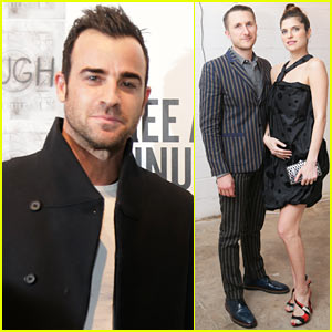 Justin Theroux Has Had a 'Couple Drunken Tattoo Nights'