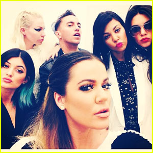 Kardashian Ladies Snap Selfies During Glamorous Shopping Spree - See the Pics!