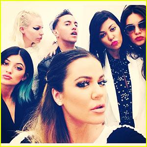 Kardashian Ladies Snap Selfies During Glamorous Shopping Spree - See the Pics!