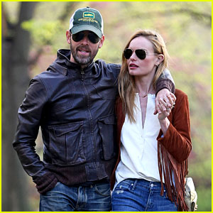 Kate Bosworth & Husband Michael Polish Go for a Romantic Central Park Stroll