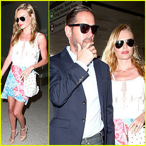 Kate Bosworth & Michael Polish Look More Tan After Maldives Vacay!