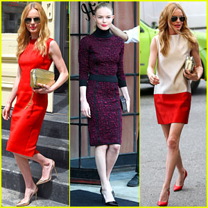 Kate Bosworth Rocks Three Stylish Looks in New York City!