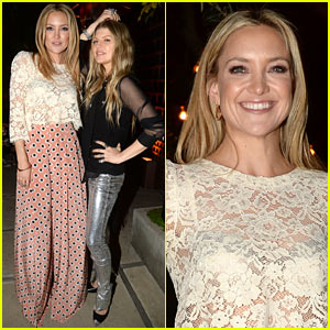 Kate Hudson & Fergie Buddy Up at Chrome Hearts Collaboration Party!