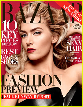 Kate Winslet to 'Harper's Bazaar': I'm Ready to Get Back to Taking Risks in Films
