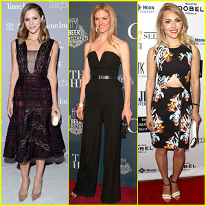 Katharine McPhee & Brooklyn Decker Party with Politicians in DC